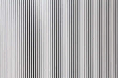 White stripes pattern metal sheet