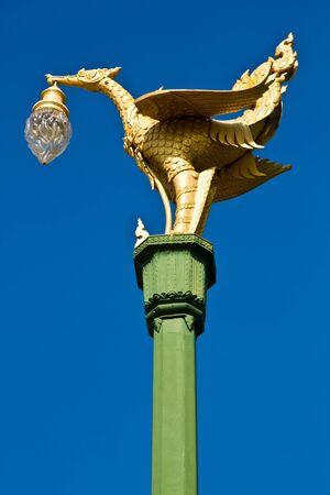 The Swan lamp. photo
