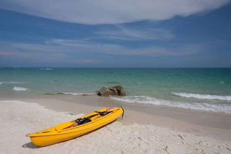 cayak: kayak on the beach at samed island