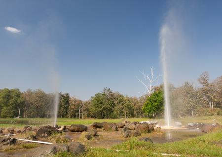 erupt: Hot Springs sankampang Chiang Mai Thailand