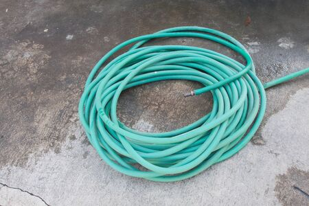plastic conduit: Rubber tube for watering plants