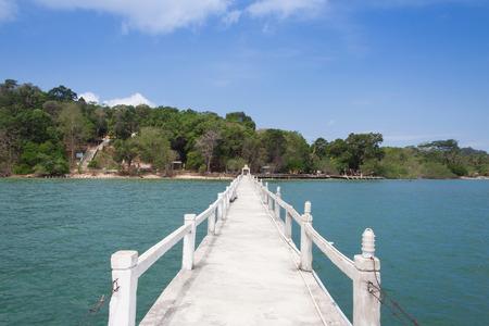 island: The Bridge in sea at Payam Island