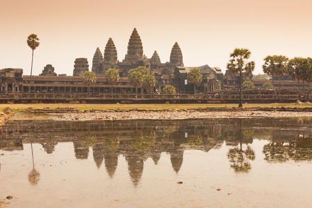 siem: Morning at Ankor Wat, Siem Reap, Cambodia