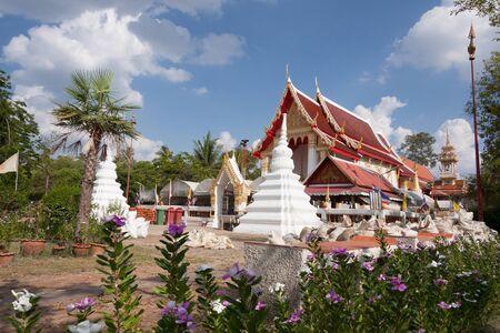 nonthaburi: Thai temple  at Koh Kred in Nonthaburi, Thailand Stock Photo