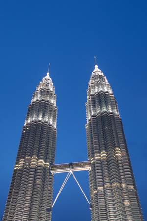 Petronas are the tallest twin buildings in the world (451.9 m)