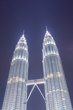 tallest bridge: Petronas are the tallest twin buildings in the world (451.9 m)