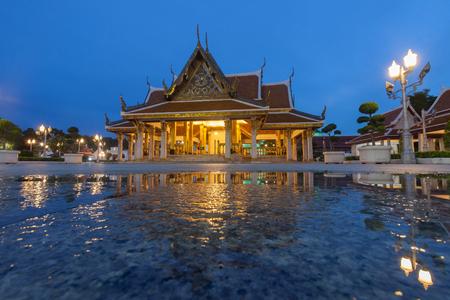 King Rama III Memorial Park in Bangkok, Thailand Stock Photo