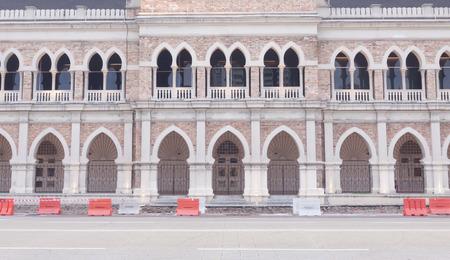 congregational: Detail of Sultan Abdul Samad building at Kuala Lumpur, Malaysia