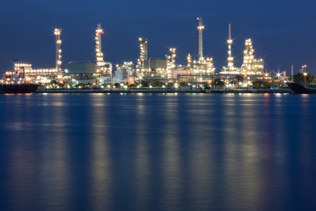 fuel storage: Oil refinery industry Stock Photo