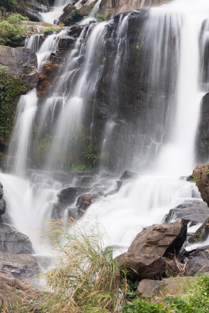 north cascade national park: Mae Klang Waterfall, the popular place in Chiang Mai , Thailand
