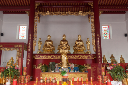 Chinese temple in Bangkok, Thailand
