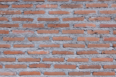 brown  brick wall for background or texture Banco de Imagens