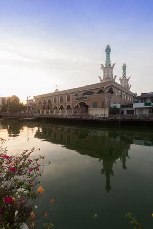 Ridwanool islam Mosque in Bangkok , Thailand