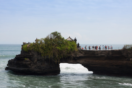 Tanah Lot Temple,Bali, Indonesia Stockfoto
