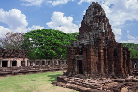 Prasat Hin Phimai historical Park in Nakorn Ratchasima north eastern of Thailand