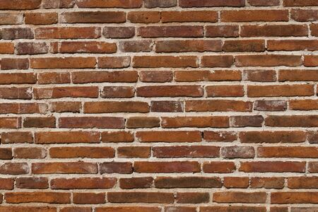 Red brick wall in Thailand Stock Photo - 10291258