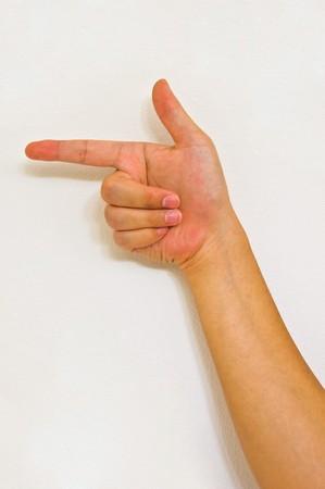 hand sign Stock Photo - 7308443