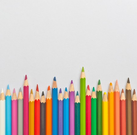 color pencils isolation Stock Photo - 7360437