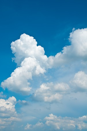 cloud background Stock Photo - 7360438