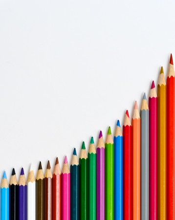 color pencils isolation Stock Photo - 7429768