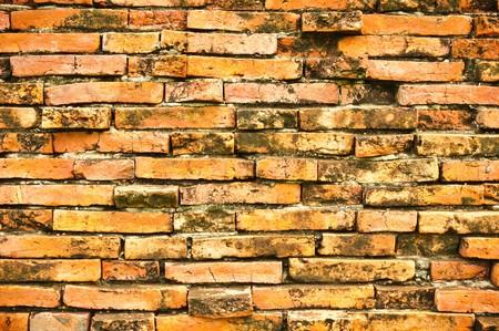 A brick wall pattern photo
