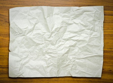 Grey paper on wood floor Stock Photo - 7598962