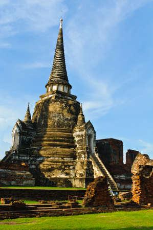 Wat Phra Sri Sanphet, Ayutthaya, Thailand Stock Photo - 7725504