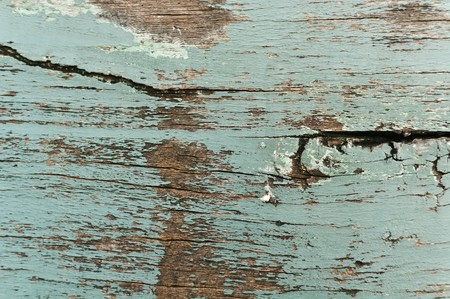 weathered wood: Painted wood texture or background Stock Photo