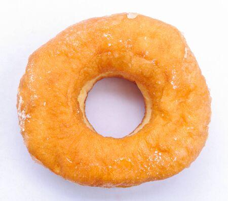 Donut white isolation photo