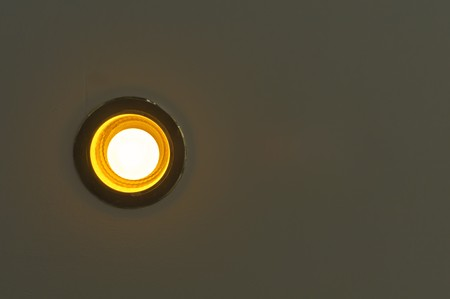 Downlight in the ceiling photo