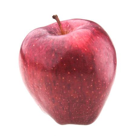 red apple isolated on white Stock Photo - 8988166