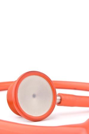 Stethoscope isolated over white background Stock Photo - 9236782