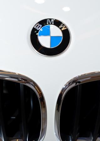 BANGKOK - SEPTEMBER 25: a logo of BMW on display at BMW XPO 2011 on September 25, 2011 at Siam Paragon in Bangkok.