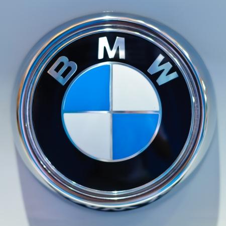 BANGKOK - SEPTEMBER 25: a logo of BMW on display at BMW XPO 2011 on September 25, 2011 at Siam Paragon in Bangkok. Stock Photo - 10666823