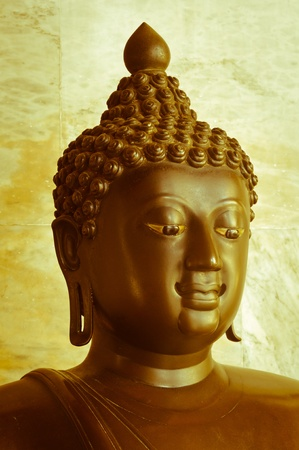buddha statue at the marble temple or Wat Benchamabophit, Bangkok. Stock Photo - 11355008