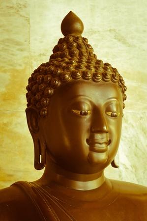 buddha statue at the marble temple or Wat Benchamabophit, Bangkok. Stock Photo - 11355008