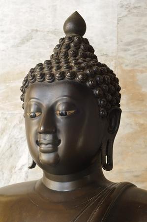 buddha statue at the marble temple or Wat Benchamabophit, Bangkok. Stock Photo - 11355006