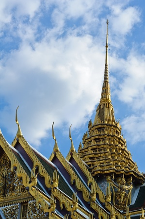 Thai style temple photo