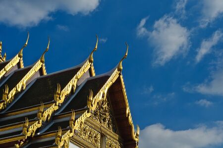 Thai style temple photo