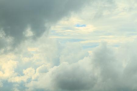 cloudscape: Cloudscape in the evening Stock Photo