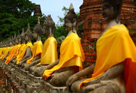 Statue du Bouddha en Tha�lande