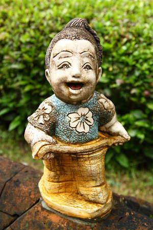 Mod�le de la statue tha�landais Banque d'images