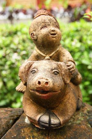Thai statue model photo