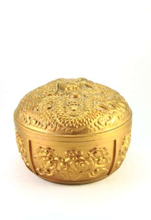 Chinese box isolated on white background Stock Photo - 8850927