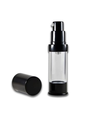 cosmetic bottle isolated on the white background  Stock Photo