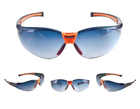 Set of sunglasses isolated on the white background  Stock Photo