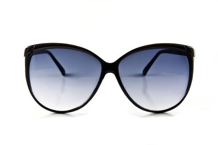Black sunglasses isolated on the white background Stock Photo - 10026197