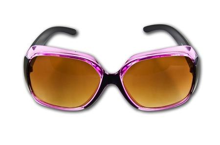 lunettes de soleil isol? sur le fond blanc