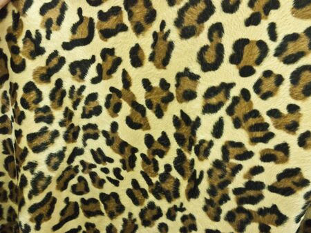 Leopard skin background photo