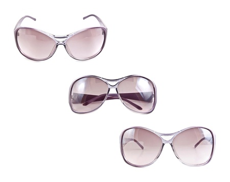 Set of sunglasses isolated on the white background Stock Photo - 10057119